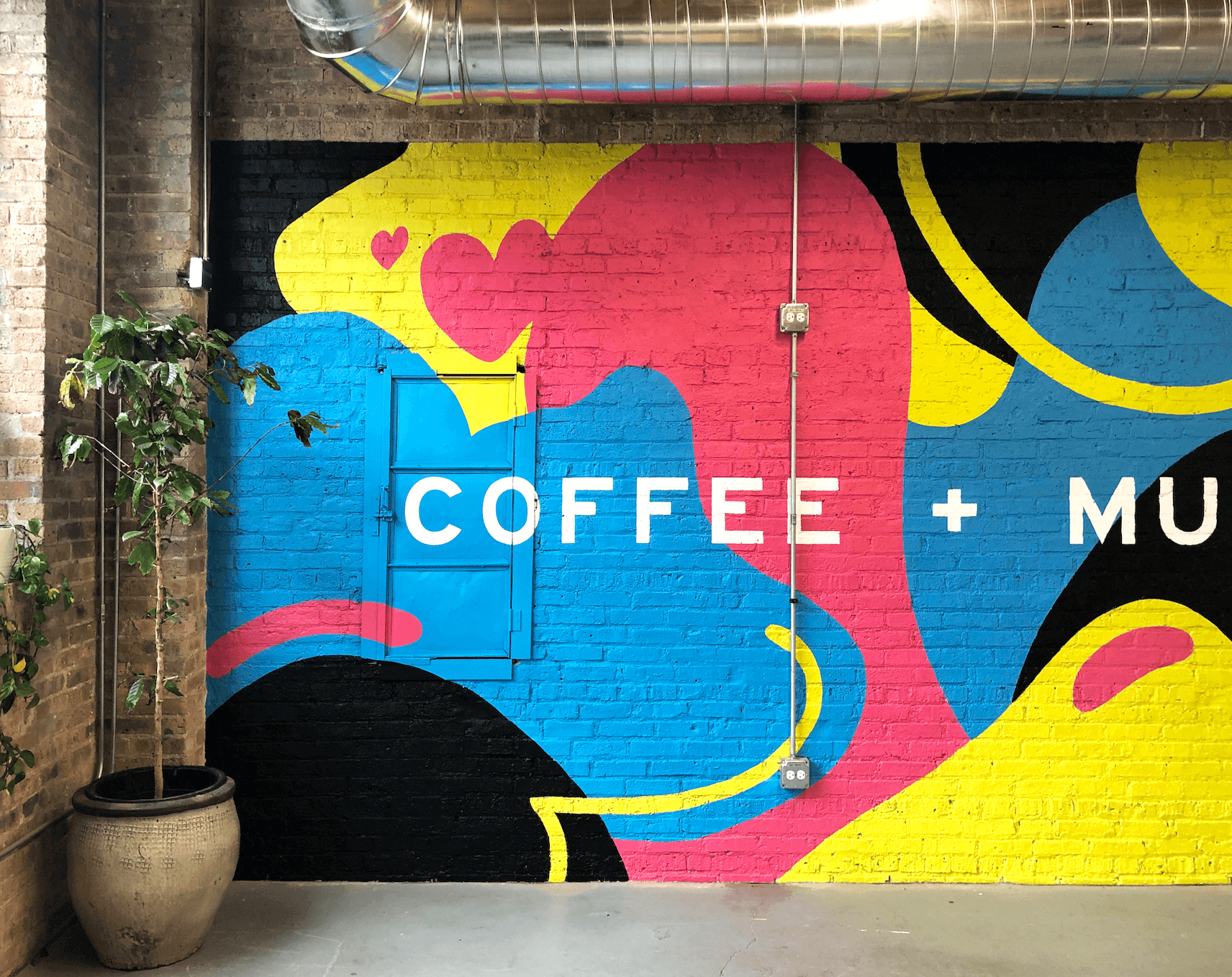 Coffee Mural by Emmy Star Brown