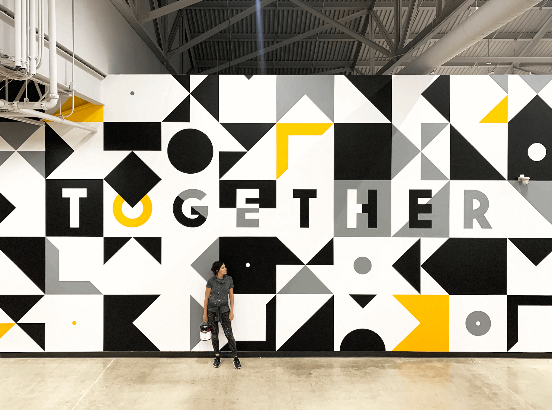 Together Mural by Emmy Star Brown