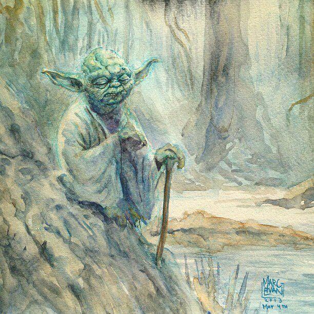 Yoda by Marc Evan