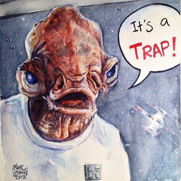 Star Wars by Marc Evan