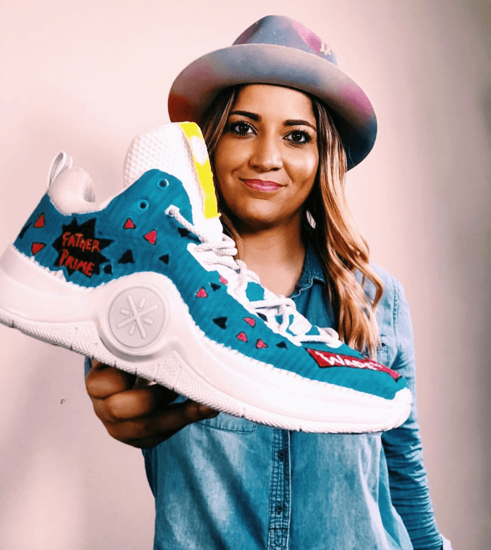 Shoes by Adieny Nuñez