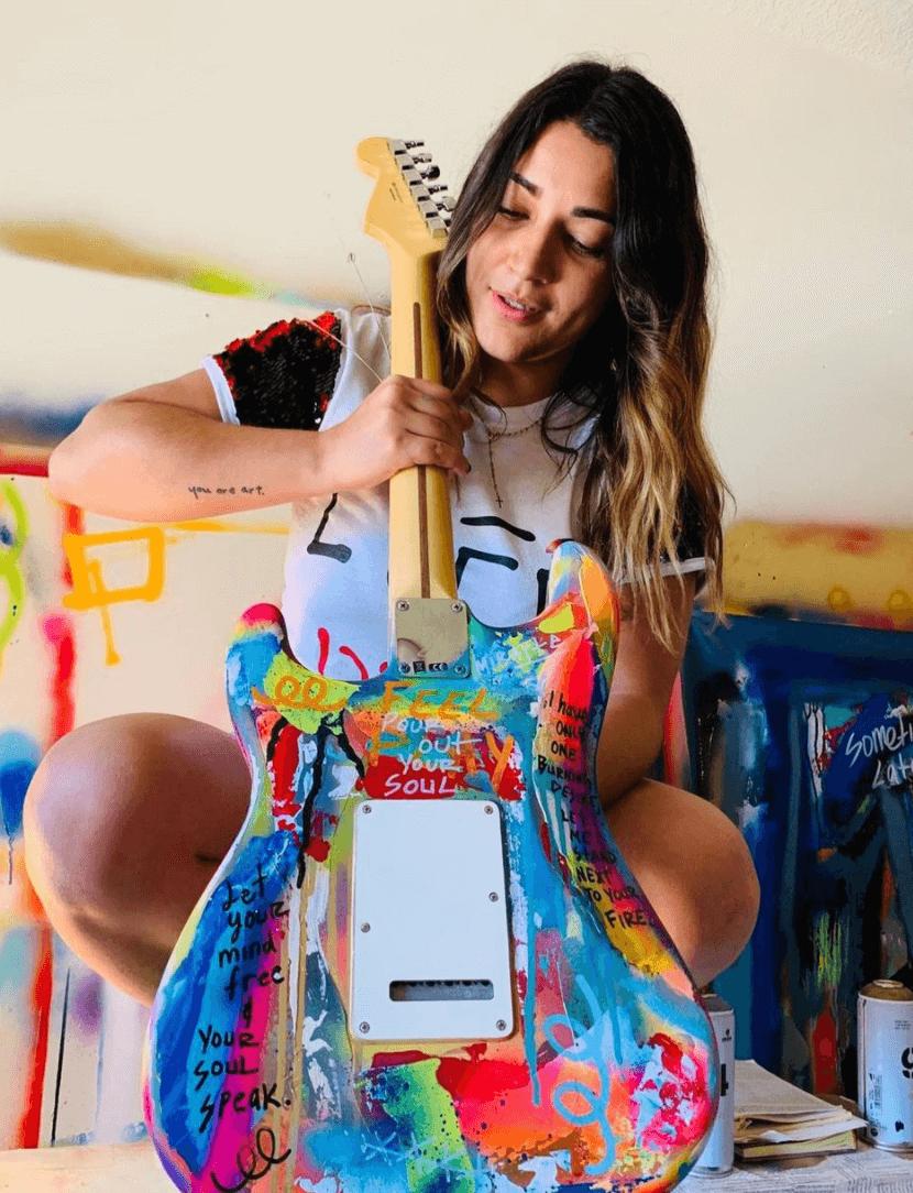 Guitar by Adieny Nuñez