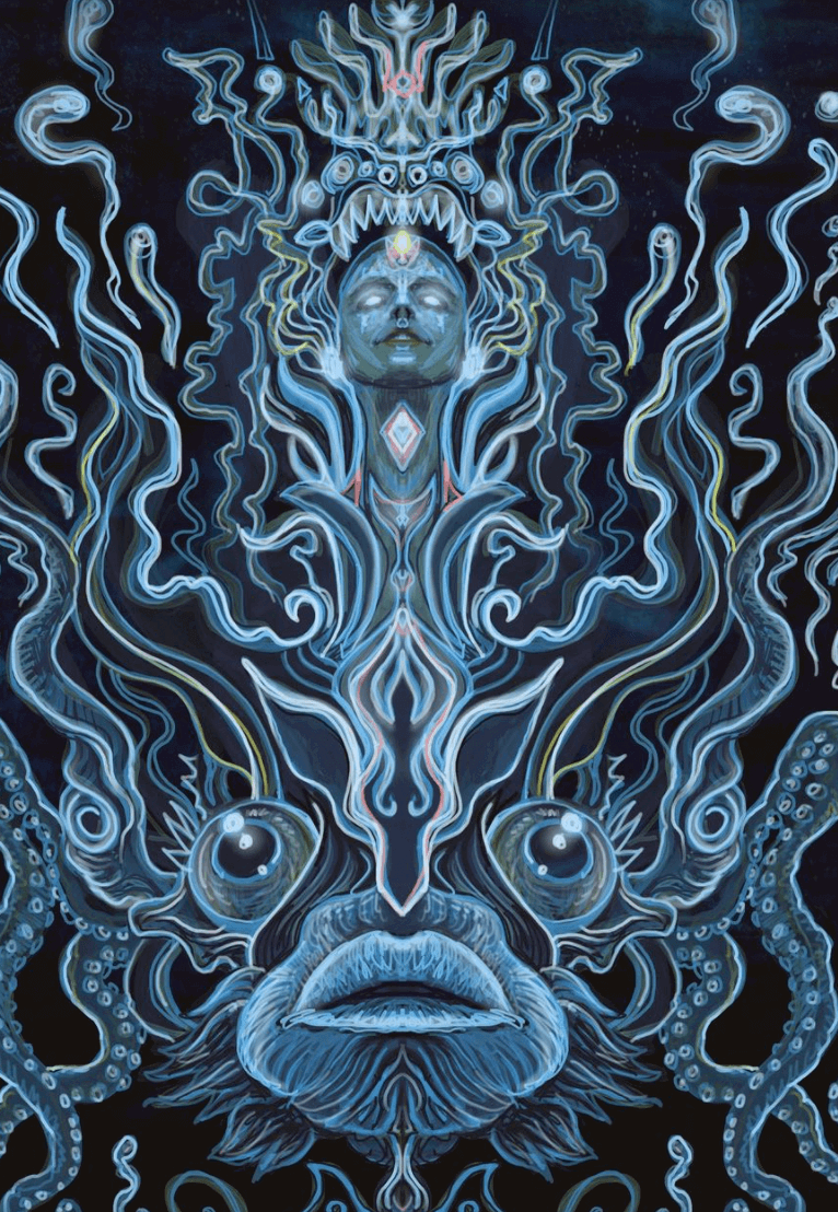 Fish Soul Mural by Marc Evan
