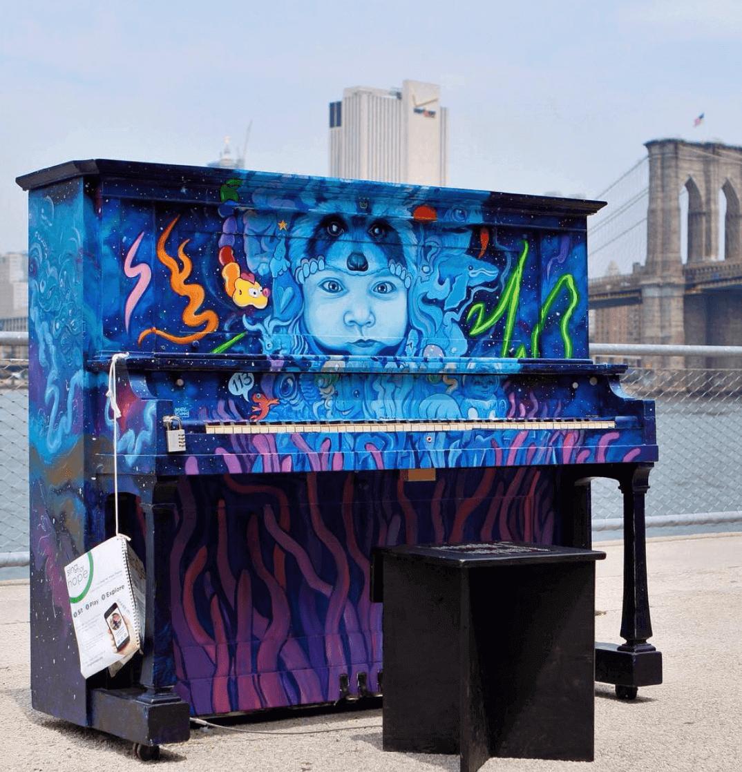 Piano Ocean