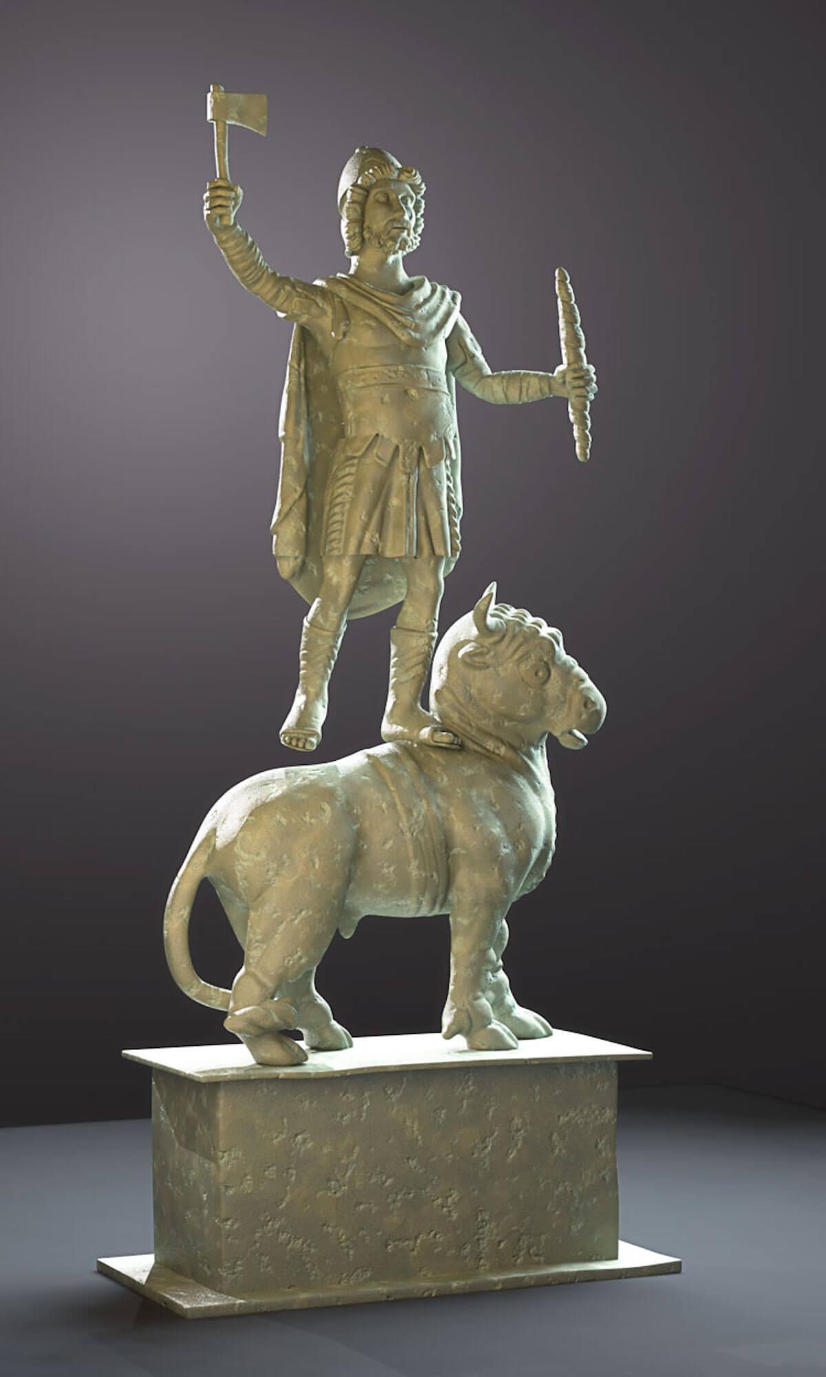 Jupiter Dolichenus Bronze by Barry Croucher