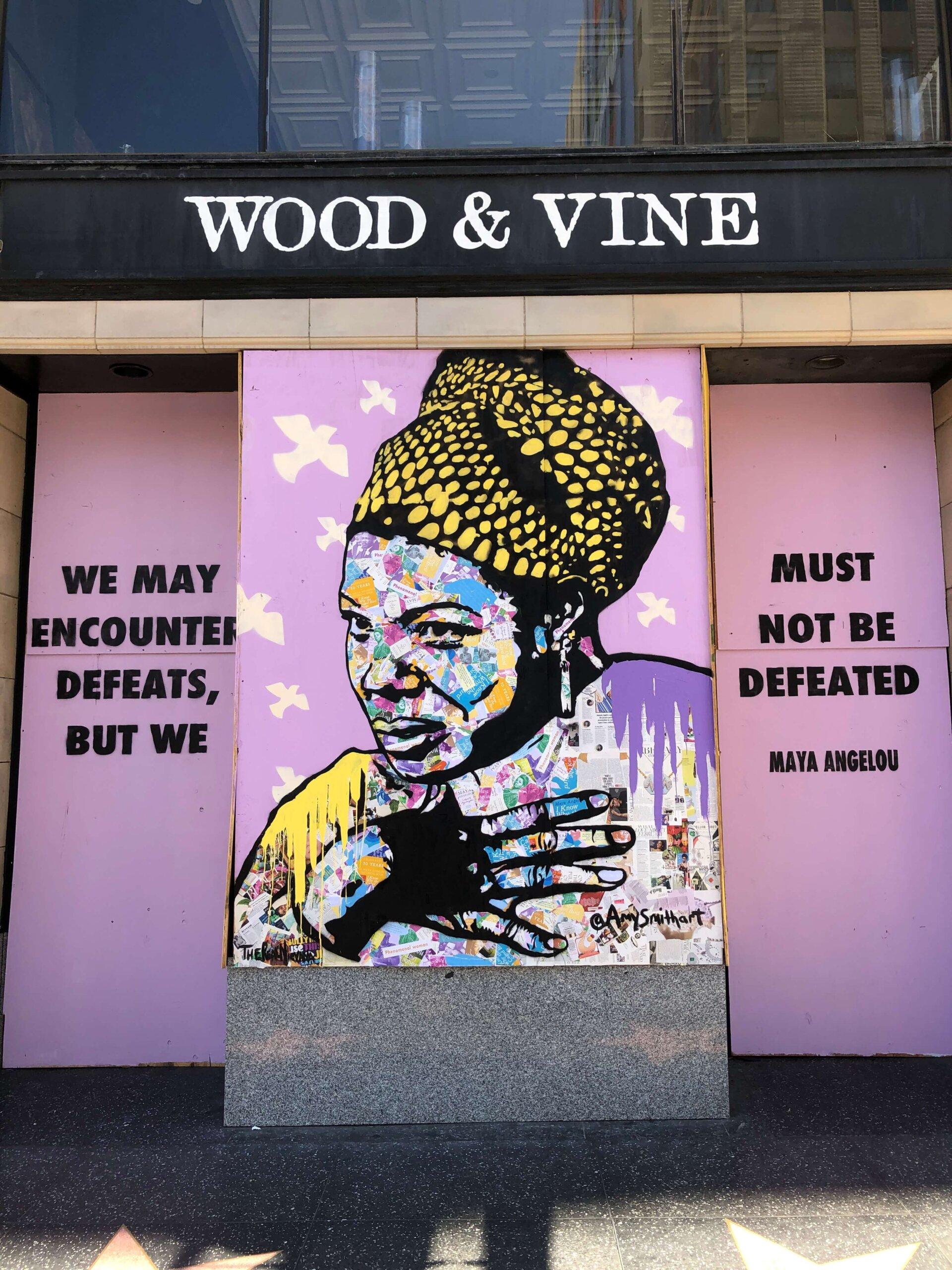 Maya Angelou by Amy Smith