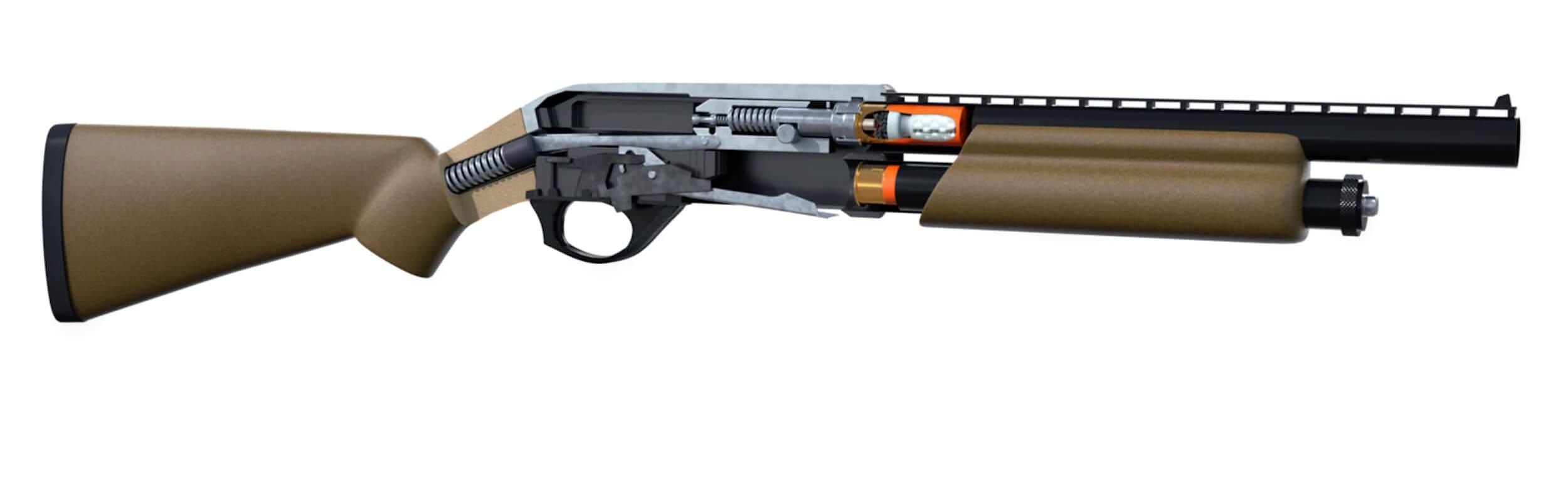 Shotgun Main by Barry Croucher